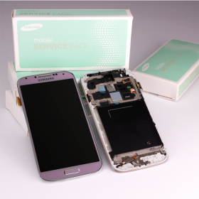 Samsung Galaxy S4 LTE GT-i9505 Display rosa/pink