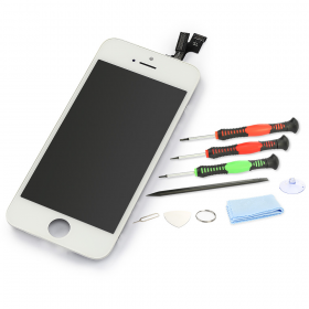 iPhone 5s Retina Display Touchscreen weiß/white