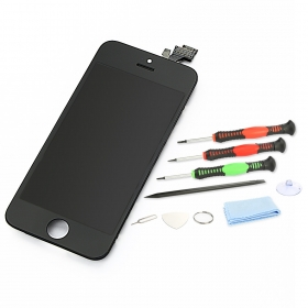 iPhone 5 Retina Display Touchscreen schwarz/black