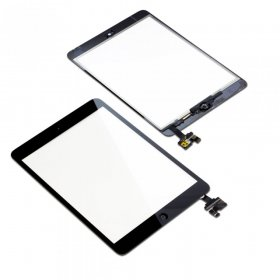 Apple iPad Mini Touchscreen Digitizer + Homebutton & IC Chip