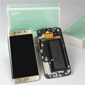 Samsung Galaxy S6 Edge SM-G925F Display gold