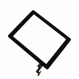 Apple iPad 2 Toucheinheit Glas Digitizer schwarz/black