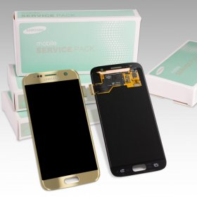 Samsung Galaxy S7 SM-G930F Display gold