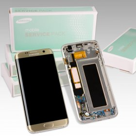 Samsung Galaxy S7 Edge SM-G935F Display gold