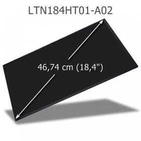 SAMSUNG LTN184HT01-A02 LCD Display 18,4 Full-HD