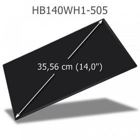 BOE HB140WH1-505 LED Display 14,0 eDP WXGA