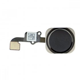 iPhone 6 Homebutton inkl. Flexkabel schwarz/black
