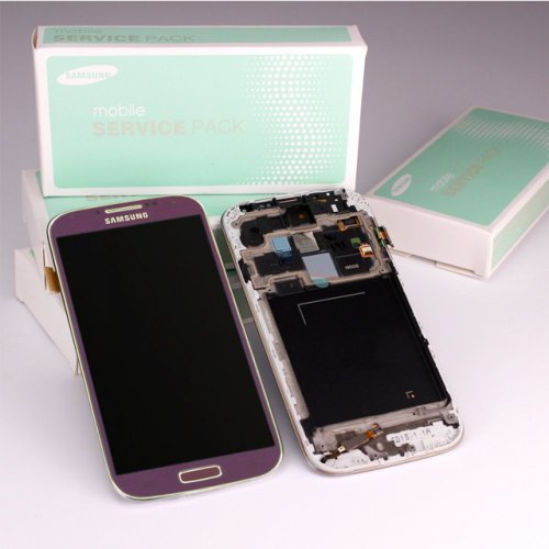 Samsung Galaxy S4 LTE GT-i9505 Display lila/purple