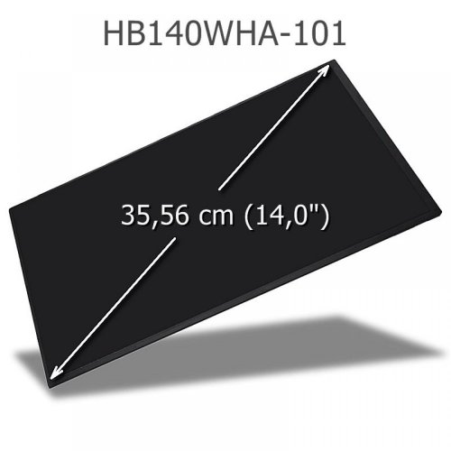 BOE HB140WHA-101 LED Display 14,0 eDP WXGA