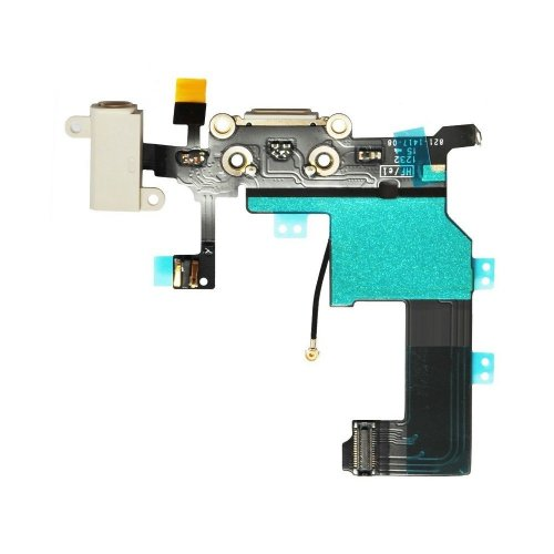 iPhone 5 System Anschluss Connector inkl. Audio Flexkabel weiß