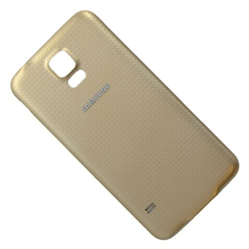 Samsung Galaxy S5 SM-G900F Akkudeckel / Batterie Cover gold