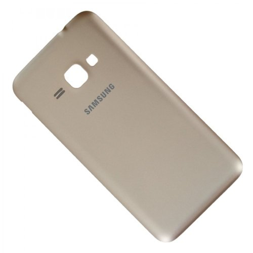 Samsung Galaxy J1 (2016) SM-J120F Rückschale Akkudeckel Back Cover Unibody gold