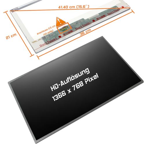 LED Display 15,6 1366x768 matt passend für Samsung E257