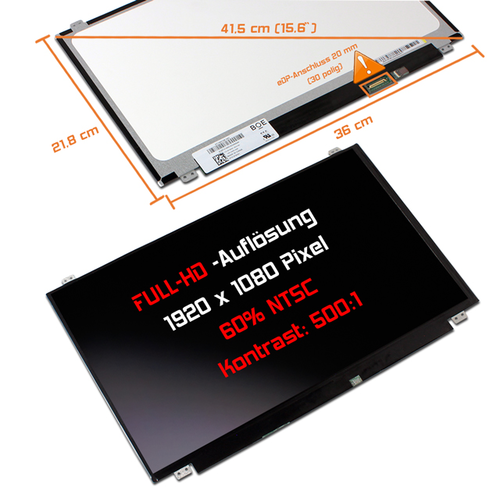 LED Display 15,6 1920x1080 matt passend für Acer Aspire V5-561G