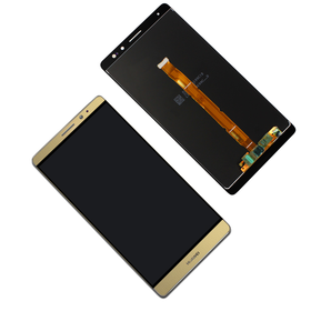 Huawei Mate 8 Display Touchscreen gold