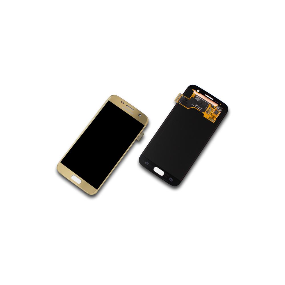 Samsung Galaxy S7 Sm G930f Display Zum Top Preis Lcd Touchscreen Edge Gold Original