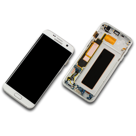 Samsung Galaxy S7 Edge SM-G935F Display weiß/white...
