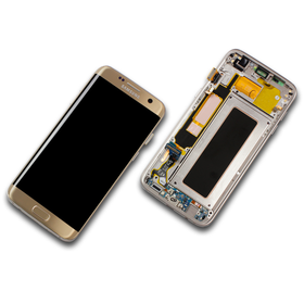 Samsung Galaxy S7 Edge SM-G935F Display gold GH97-18533C